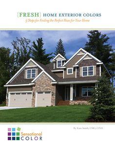 Exterior Of Homes Designs. Craftsman Exterior ColorsExterior ...
