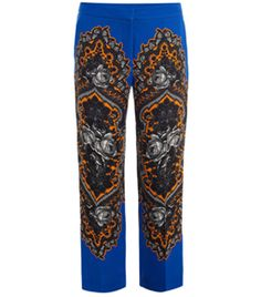 Hamilton Ornate Floral Trousers by Stella Mccartney #matchesfashion