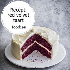 Red Velvet Cake, High Tea, Vanilla Cake, Cravings, Smoothies, Food Porn, Goodies, Sweets, Baking