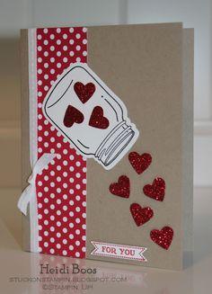 Heidi Boos Valentine Jar