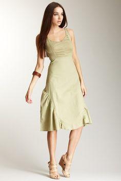XCVI Flared Hem Dress