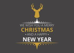 We wish you a merry christmas and a hapy new year