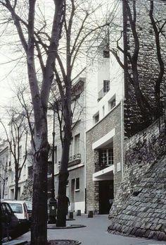 Tristan Tzara House, Paris 1926, Adolf Loos