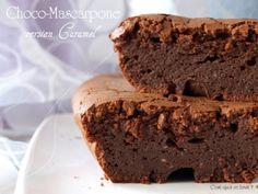 chocolat mascarpone gateau 500x375 Choco mascarpone au caramel {recette gâteau au chocolat qui tue}