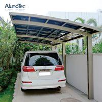 Outdoor Polycarbonate Aluminum M Style Carport For Car Garage Roof Colors Aluminum Pergola Carport