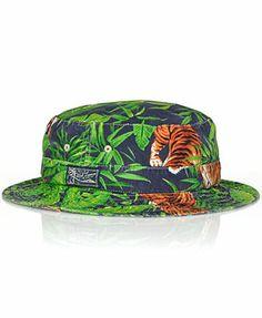 Polo Ralph Lauren Tiger-Print Bucket Hat
