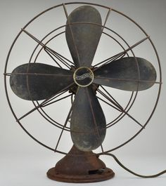"Made by Westinghouse this fan is 19"" x 17"" in size and includes four metal blades. Description from tgldirect.com. I searched for this on bing.com/images"