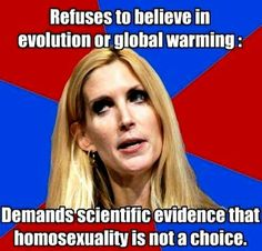 Ann Coulter - Front runner for M/S 'Air Head' again in 2015 !