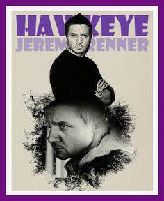 Jeremy Renner | #Hawkeye Clint Barton #Avengers