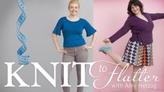 Perfect Your Sweater Design in: Knit To Flatter, with Amy Herzog - Make every sweater you knit your new favorite! Author & designer Amy shows you how to fashion knitwear that's perfect for you in this knitting class. - via @Craftsy