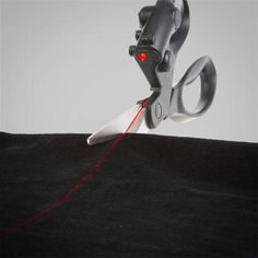 LASER-GUIDED SCISSORS. | 19 Insanely Clever Products That Prove We're Living In The Future