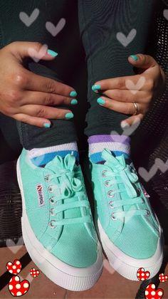 New Superga shoes ! Love colours :)