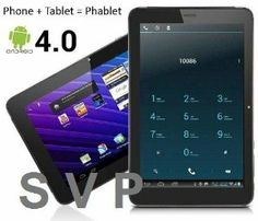 """Amazon.com: 7"""" 2G GSM Android Capacitive Touchscreen Phablet Tablet Smartphone - Unlocked: Cell Phones & Accessories"""