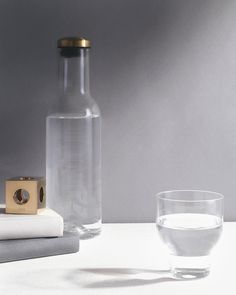 Water Bottle with Brass Lid by Norm Architects