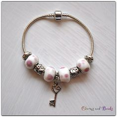 Bracelet european style beads charms, on ebay from € 0.99