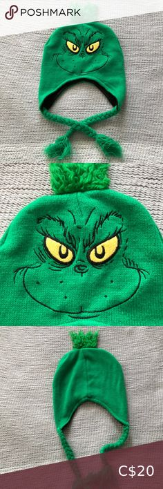 DR SEUSS The Grinch fleece lined adult cap 2012 DR SEUSS The Grinch fleece lined adult cap 2012✖️ Gently worn and cared for Make an offer or bundle and save Dr. Seuss Accessories Hats Other Accessories, Women Accessories, Urban Outfitters Men, 2 Piece Prom Dress, Christmas Pjs, Sleep Set, Grinch, Cap, Purses