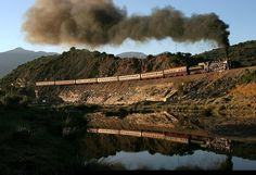 SA South African Railways 3323, Oudtshoorn South African Railways, Busses, Steam Engine, Steam Locomotive, Grand Canyon, Past, Transportation, Passion, Smoke