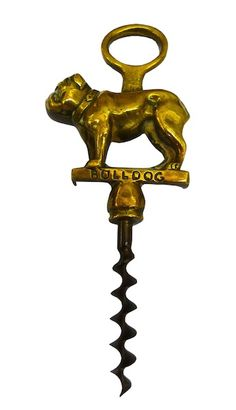 Bulldog corkscrew c1930, from Beth at Alfies Antique Market