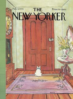 The New Yorker - Monday, February 4, 1974 - Issue # 2555 - Vol. 49 - N° 50 - Cover by : George Booth