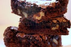 Our old family recipe for Homemade Chocolate Brownies