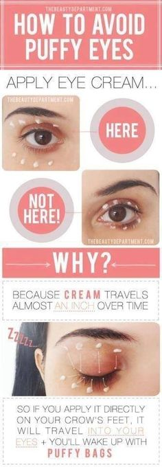Did you know? There is a RIGHT way and a WRONG way to apply your eye cream! Be sure to use the right eye cream the right way with Rodan+Fields. Click through for our Redefine Multi-Function Eye Cream!