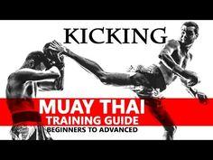 Muay Thai Training Guide. Beginners to Advanced: Kicking - YouTube