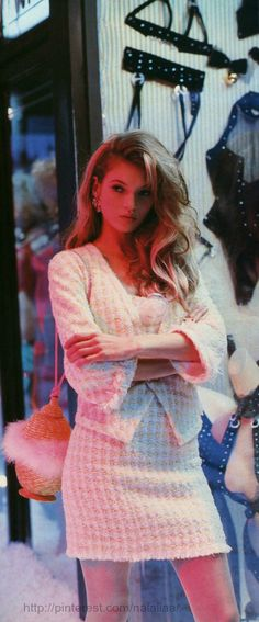 Kate Moss for Glamour France 1992