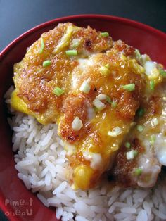 Comida japonesa: katsudon