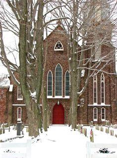 Doylestown Presbyterian Church, Winter