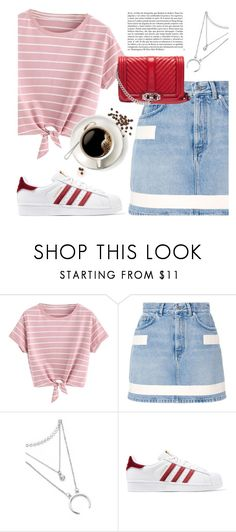 """""""Untitled #305"""" by vibesofvogue ❤ liked on Polyvore featuring Givenchy, adidas Originals, Whiteley, Rebecca Minkoff and CoffeeDate"""