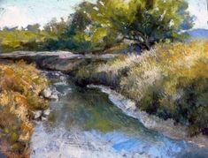 Peaceful Evening, Bosque del Apache by Margi Lucena Pastel ~ 11 x 14 Canyon River, Best Artist, Art World, Cool Art, It Works, Around The Worlds, Peace, Gallery, Nature