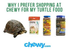 This article explains where to buy turtle food online. I prefer to buy my turtle pellets at chewy.com Turtle Care, Pet Turtle, Turtle Supplies, Types Of Turtles, Red Eared Slider, Food Online, Pet Store, Food Items, Gourmet Recipes
