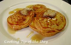 Cooking Tip of the Day: Recipe: Southern Sweet Potato Pancakes with Pecan Butter