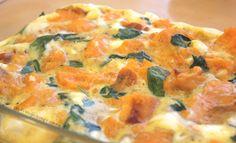 Jamien bataatti-pinaatti frittata - Cosy Cooking | Lily.fi Frittata, Vegetarian Food, Cosy, Cooking, Breakfast, Kitchen, Morning Coffee, Vegetarian Cooking, Vegan Food