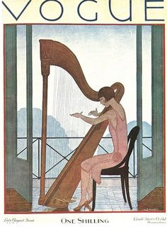 Vintage Vogue Magazine Covers From The Early 20th Century