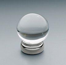 "RH Vintage Knob polished chrome 1 1/4"" Sale price $10"