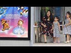 Disney Junior Asia Creates Magic at a Bus Stop - YouTube