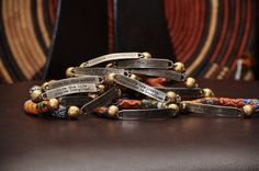 I just bought two Krobo Quote Bracelets by @QuellyRueDesigns - can't wait to rock them!