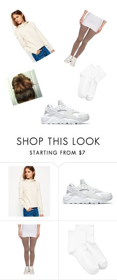 """""""Untitled #113"""" by moffettjasmyne ❤ liked on Polyvore featuring Superdry, NIKE and Hue"""