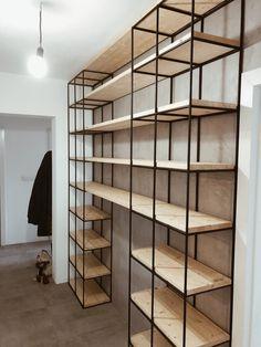 Realizácie   ROXOR DESIGN STORE Industrial Desk, Shelving, Shelf, Random, Furniture, Design, Home Decor, Industrial Shelves, Soldering