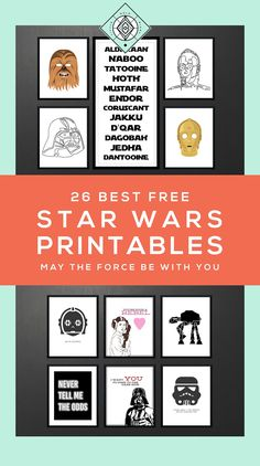 Star Wars Free Printables A Roundup - Star Wars Canvas - Latest and trending Star Wars Canvas. - Free Star Wars Art Printables Little Gold Pixel Star Wars Baby, Star Wars Kids, Decoracion Star Wars, Star Wars Bathroom, Bathroom Art, Bathrooms, Star Wars Zimmer, Aniversario Star Wars, Star Wars Classroom