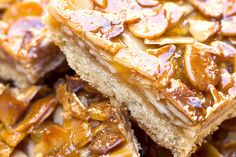 Recipe: Chestnut honey squares. Photo: Jeff Kauck