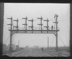 Signal gantry spanning rail lines. - Atom site for DRISA Access Point Name, Latitude Longitude, Travel, Viajes, Destinations, Traveling, Trips