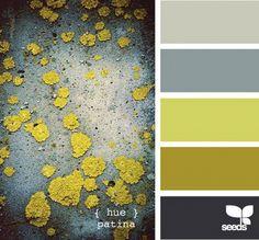 Patina - Color Palette