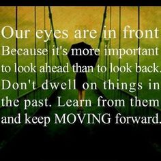 Let's keep moving forward together! We are all in this thing called life together and struggle with many things alone.