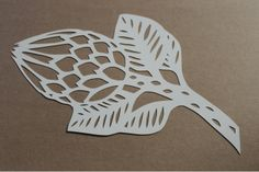 Protea Paper Cutout by Friday Revolution on hellopretty.co.za