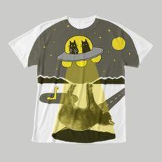 ABDUCTION NOW フルグラフィックTシャツ