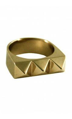 Shop Large Studder Stack Ring by TOM TOM Jewelry on   http://www.mybeautifuldressing.com/en/4071-studder-stack-.html