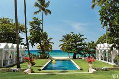 Hydrangea Hill Cottage: Celerie Kemble's Playa Grande Beach Club