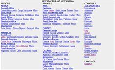 ABYZ News Links, enorme directorio de medios de comunicación de todo el mundo